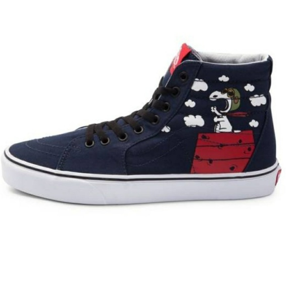 snoopy vans shoes